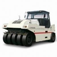 Best Pneumatic Road Roller with 20.75kph Tallest Headway Speed and Low-gravitational Center Design wholesale