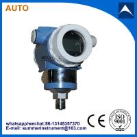 direct mount 1/2NPT or 1/4NPT thread connection flush pressure transmitter with low price