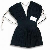 China 12GG Ladies Knitted Sweater, Made of Rayon, Available in Black on sale