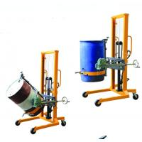Best Knob Release Handle Manual Pallet Truck 55 Gallon , Hydraulic Manual Portable Hand Drum Lift Truck wholesale