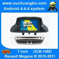 China Ouchuangbo S160 Renault Megane III 2010-2011 audio dvd radio android 1080P android 4.4 BT on sale