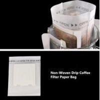 China Non Woven / Paper / Cotton Drip Coffee Filter Bags Food Grade Custom Size on sale