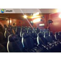 Best Integrating Simulating Luxury Cabin Box 5D Cinema System With Fiber Glass Material wholesale