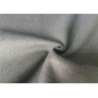 Best Skin Friendly Soft Melton Wool Fabric For Garment , Wool Coating Fabric wholesale