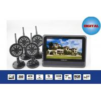Best 2.4GHz 7'' TFT LCD Wireless DVR Digital Security Camera System DC 5 V / 1000mA wholesale