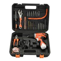 Best Variable Speed Cordless Drill Tool Set 34 Piece For Wood / Steel / Concrete wholesale