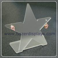 Best Clear Star Shaped Acrylic Earring Holders wholesale