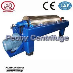 Continuous Ceramic Decanter Centrifuges, 2 Phase Horizontal Centrifuge Decanter Separator