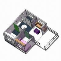 Best Modular House with Living Room, Dining Room, Wash Room, Outdoor Platform wholesale