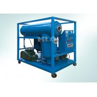 China Consistent Operation Transformer Oil Filter Machine With Interlocked Protective System on sale