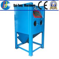 Best Stainless Steel Body Wet Abrasive Blasting Cabinet , Wet Sand Blasting Machine Pneumatic Pedal Switch wholesale