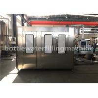 China 3 In 1 Full Automatic Bottle Filling Machine , Drinking Water Production Line on sale