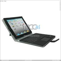 Best Detachable Solar Panel Bluetooth Keyboard with 0.5cm Ultra-Thin Leather Case for iPad 2 P-iPad2 P-IPAD2CASE100 wholesale