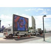 China High brightness Mobile Truck LED Display Full Color Tube Chip Video Display Function on sale