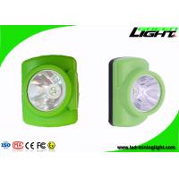 Best CREE 3W High Power Cordless Mining Lights , Led Mining Headlamp For Underground Working wholesale