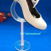 Best Custom Curved Acrylic Shoe Rack Display Stand wholesale