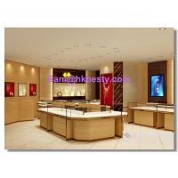 Buy cheap gold jewelry retail store furnitures display showcases , kiosks and wall cabinets product