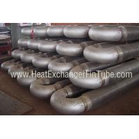 Buy cheap A213 T91 Alloy Steel Tubes , HF Hairpin Spiral Welded Fin Tube For Economizers product