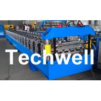China Standard 686mm IBR Sheet Roll Forming Machine With PLC Control System on sale