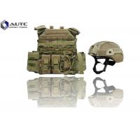 Buy cheap Individual Lightweight Body Armor , Full Body Bulletproof Armor Camouflage Color from wholesalers