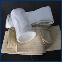 Best Oil and Water Repellent Polyester Filter Bag 450GSM~550GSM For Steel Plant wholesale