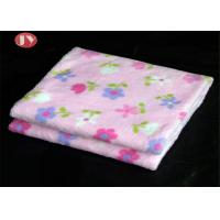 Best Soft Comfortable Thermal Printed Newborn Baby Flannel Weighted Small Baby Blanket For Kids wholesale