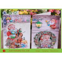 Best Handmade Greeting Cards For Birthday , UV Printing Personalised Christmas Cards wholesale