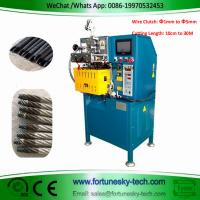 Best Fully Automatic Wire Clutch Cutting Sealing Machine Cut To Length 10cm-30M  Diameter 1MM to 5MM Wire Head Not Scattered wholesale