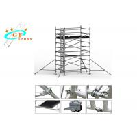 Best Lightweight Aluminium Scaffold Tower 8m For House Building With Wheels wholesale