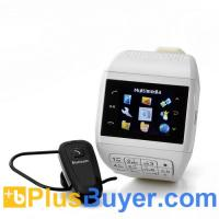China Quartz - Dual SIM Cell Phone Watch with Keypad (1.33 Inch Touchscreen, Bluetooth, 4GB) on sale