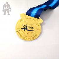Best Funny Custom Engraved Metal Gold Medal  , Basketball Medals For Kids Multi Functional wholesale