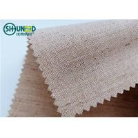 Best Woven Hair Bow Canvas Cotton Polyester Interlining 260gsm Lining For Garment Uniform Suit wholesale
