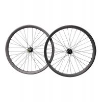 China 29er carbon all mountain wheelset Hookless boost 40mm wide  novatec carbon wheels on sale