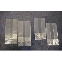 China Small Transparent OPP  Block Bottom Bags / OPP Square Bottom Packaging Bags for Tea on sale