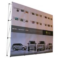 Best Easy Installation Trade Show Backdrop Displays Folding Banner Stand Smooth Surface wholesale
