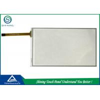 Best Laptop 5 Inch Resistive Touch Panel Overlay 4 Wire Analog Film Glass Structure wholesale