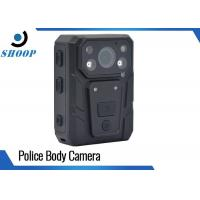 Best Built - In Microphone Body Worn Surveillance Cameras With 3500mAh Battery wholesale