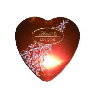 China Various Colors Heart Shaped Chocolate Box , Custom Christmas Gift Boxes With Lids on sale
