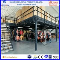Buy cheap 2-3 tier floor warehouse Q235b Steel Mezzanine Rack/ ladder steel platform product