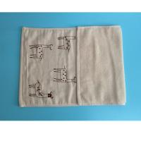 Cheap non twist yarn hand towel double layer face towel for sale