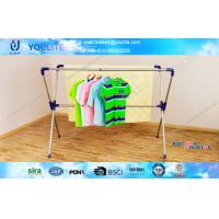 China Sturdy  X-type Collapsible Extended Modern Clothing Rack / Household DIY Cloth Drying Rack wholesale