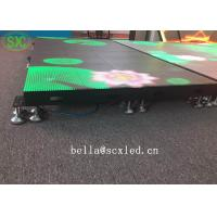 Buy cheap Waterproof P10 Light Weight Led Dance Floor Full Color For Disco / Dj Bar from wholesalers