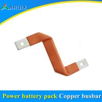 China New lithium battery special copper flexible bus bar copper soft connector on sale