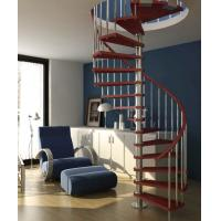 Best Steel Custom Spiral Staircases with Solid Wood Step wholesale