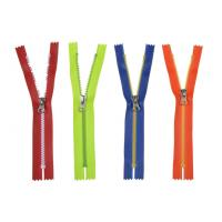 China No. 5 Plastic Stick TPU Water Proof Zipper For Outdoor Apparel , Diving Suit on sale