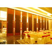 Best Hanging Office  Aluminum Sliding Doors , Banquet Hall Partition Wall , Ceiling Track wholesale
