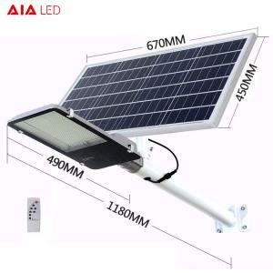 Best solar led street light 400W led solar street lamp with outdoor led fixture solar led street light for square wholesale