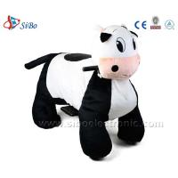 Best Riding Toy Stuffed Animal Cow Rides Indoor Playground Equipment Walking Horse wholesale