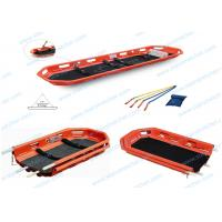 China Sturdy PE Seperatable Rescue Basket Stretcher , Fireproof Helicopter Stretcher on sale