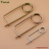 Best Spring Wire Coiled Tension Safety Pin, Small body Diaper Pin ,Zinc Finish Safety Pin Wire wholesale